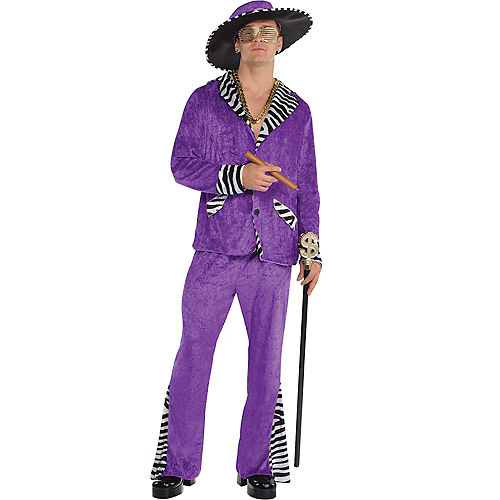 Adult Sugar Daddy Pimp Costume