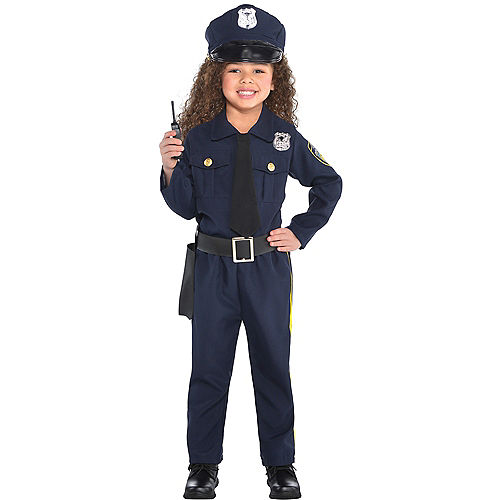 Police costumes sexy cop costumes for women party city toddler girls classic police officer costume solutioingenieria Image collections