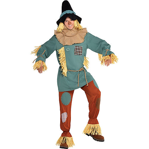 Adult Silly Scarecrow Costume - Wizard of Oz