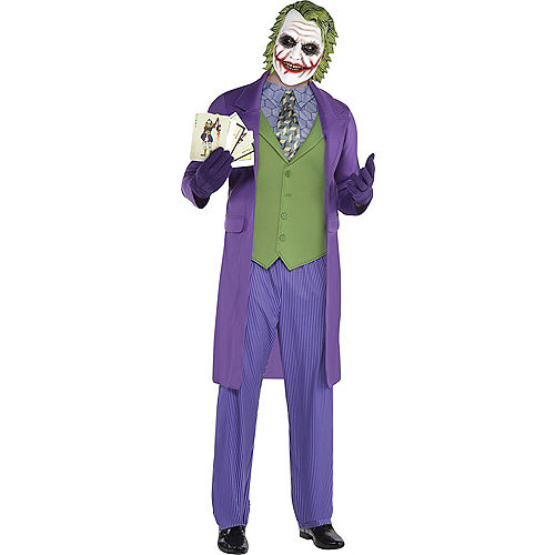 Adult Joker Costume - The Dark Knight