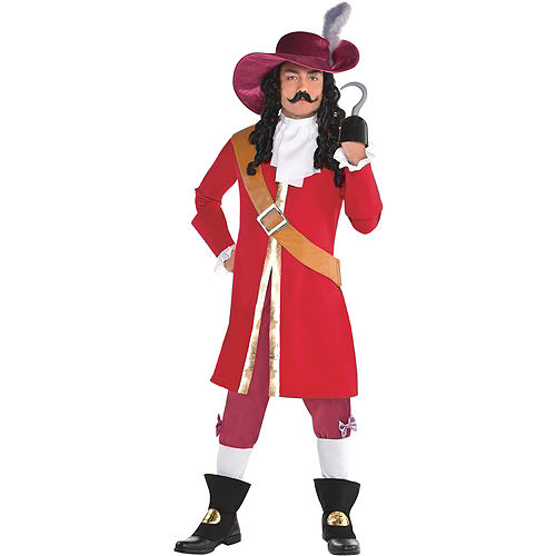 a76dd18f1 Adult Tinker Bell & Captain Hook Couples Costumes - Peter Pan ...