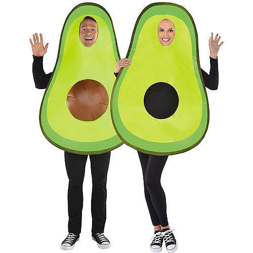 Adult Avocado Costume with Removable Pit