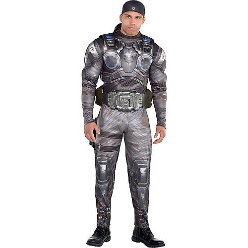 Adult Marcus Fenix Muscle Costume - Gears of War