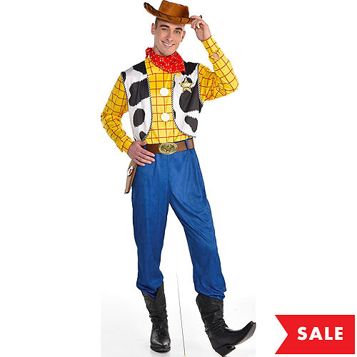 Adult Woody Costume - Toy Story 4