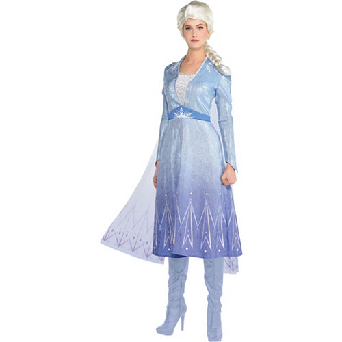 Adult Act 2 Elsa Costume - Frozen 2