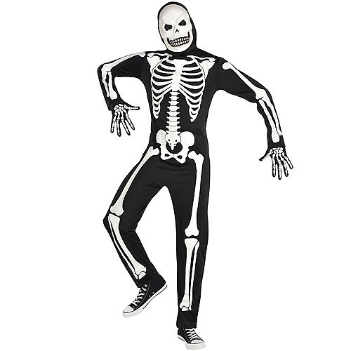 Adult Glow-in-the-Dark X-Ray Skeleton Costume