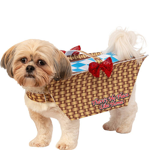 Toto In Basket Dog Costume - Wizard of Oz