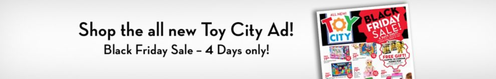 Shop the all new Toy City Ad!