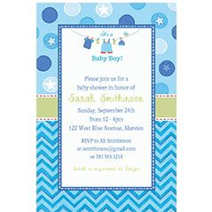 Custom Baby Shower Invitations - Baby Shower Invites | Party City