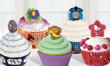 Cupcake Icing Decorations & Picks