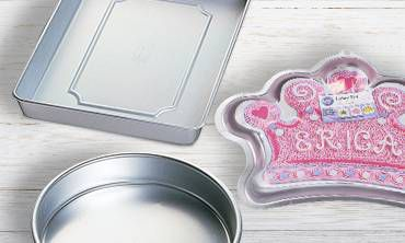 Cake Pans, Cookie Sheets