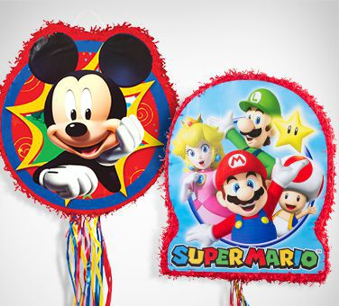 Boys' Birthday Pinatas