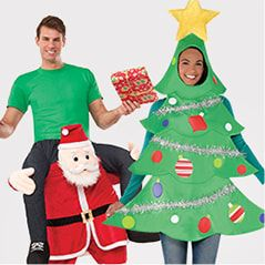 Christmas Costumes: Christmas Tree, Reindeer & More