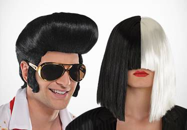 Rock, Pop Star, & Rapper Wigs