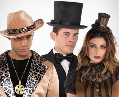 Top Hats, Derby Hats, Fedoras