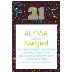 Custom Milestone Birthday Invitations Party City