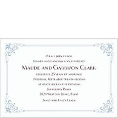 Anniversary invitations invitation kits party city 25th anniversary invitations stopboris Choice Image