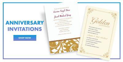 Anniversary Invitations Invitation Kits Party City Canada