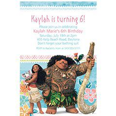 Custom Girls' Birthday Invitations