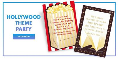 Theme Party Invitations Party City