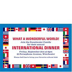 International Theme Party
