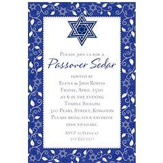 Passover Invitations