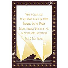Custom Theme Party Invitations
