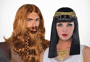 Egyptian, Roman & Greek Wigs