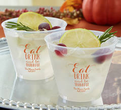 Personalized Fall-Themed Cups