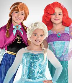 Disney Princess Group Costumes