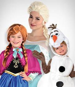 Frozen Group Costumes