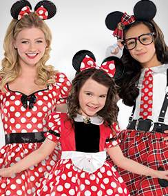 Minnie Mouse Group Costumes