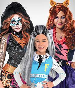 Monster High Group Costumes