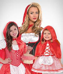 Red Riding Hood Group Costumes