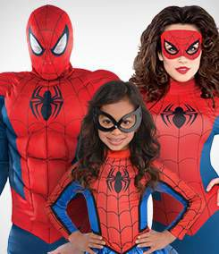 Spiderman Group Costumes