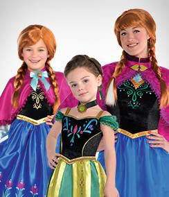 Anna Group Costumes