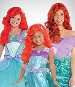 Ariel Group Costumes