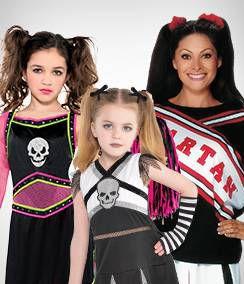 Cheerleader Group Costumes
