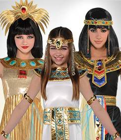 Cleopatra Group Costumes