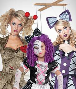 Doll Group Costumes