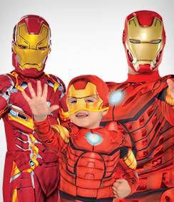 Iron Man Group Costumes