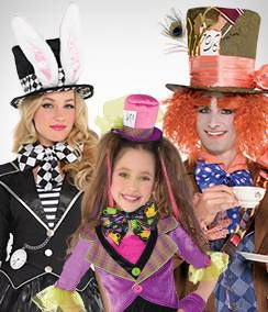 Mad Hatter Group Costumes