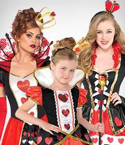 Queen Of Hearts Group Costumes