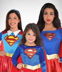 Supergirl Group Costumes