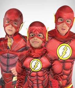 The Flash Group Costumes