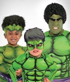 The Hulk Group Costumes