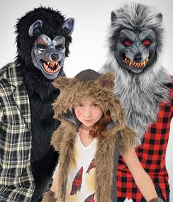 Werewolf Group Costumes