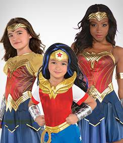 Wonder Woman Group Costumes