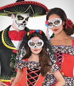 Day of the Dead Group Costumes
