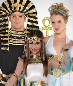 Egyptian, Roman & Greek Group Costumes
